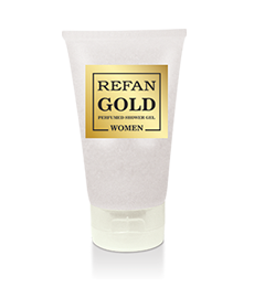 Shower Gel Refan Gold Collection Women